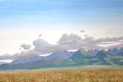 Mountains-on-the-Road-to-Westcliffe-2013 Oil-on-Linen 20x36