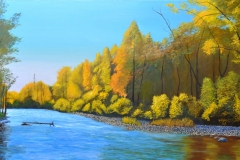 Conejos-River-Colorado-2020-Oil-on-Linen-30x60