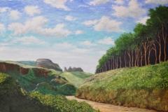 Tintagel-Castle-Cornwall-30x40-Oil-on-Linen 30x40