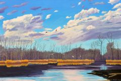 Early-March-at-White-Rock-Lake-2021-Oil-on-Linen-24x36-1-scaled
