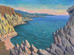 Above Red Beach near Matala, Crete, 36×48