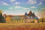 La Mahaudiere, Loire Valley, 24x36 Oil on Linen