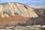 Stone Mountain 24x36 Oil on Linen