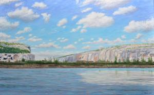 The Rio Grande October 2013 30x48 Oil on Linen 2014