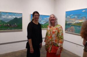 Julie England and Ethel Stephens