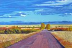 A Road outside Westcliffe 2019 Oil on Canvas 24x36